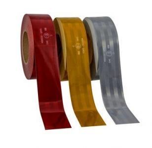 3M™ Пленка Световозвращающая серии 943-71 для контурной маркировки ТС, желтая, 50,8 мм х 50 м